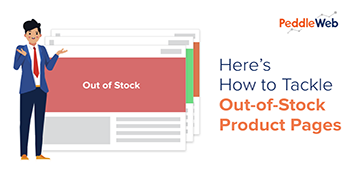 Tackle Out of Stock Product Pages